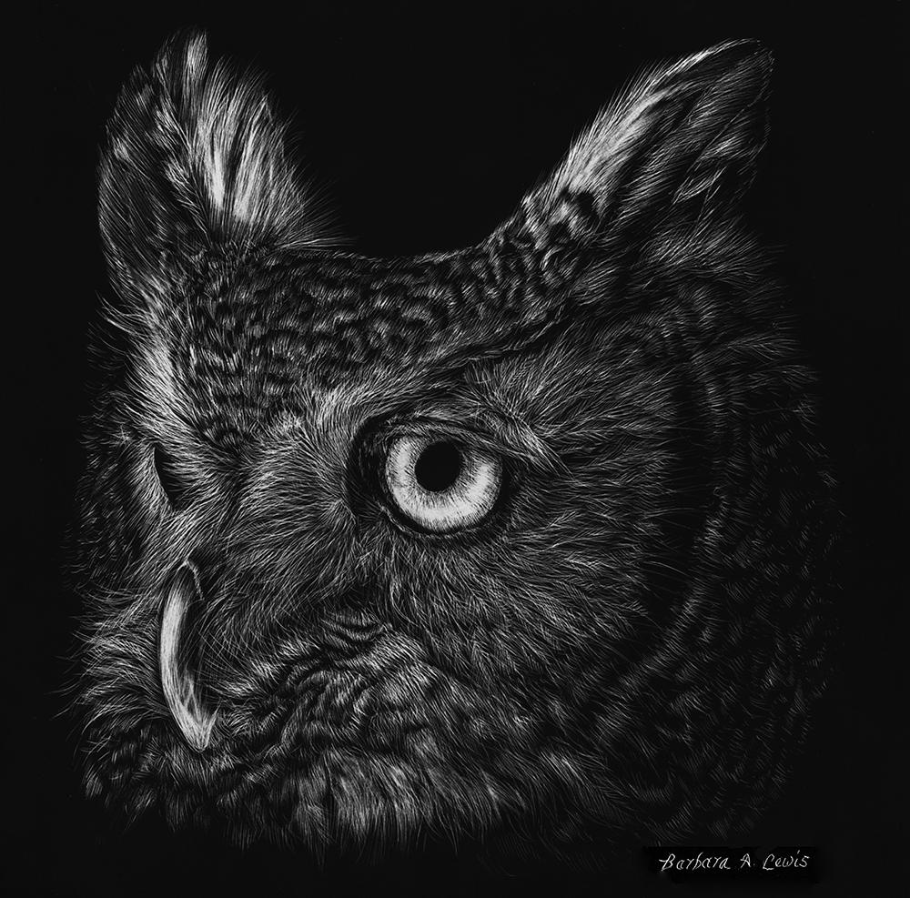 Nightwatcher - Great Horned Owl